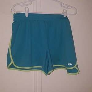 2 pair Champion DuoDry shorts, XXL